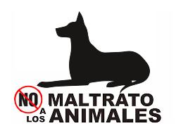 no _al_maltrato animal